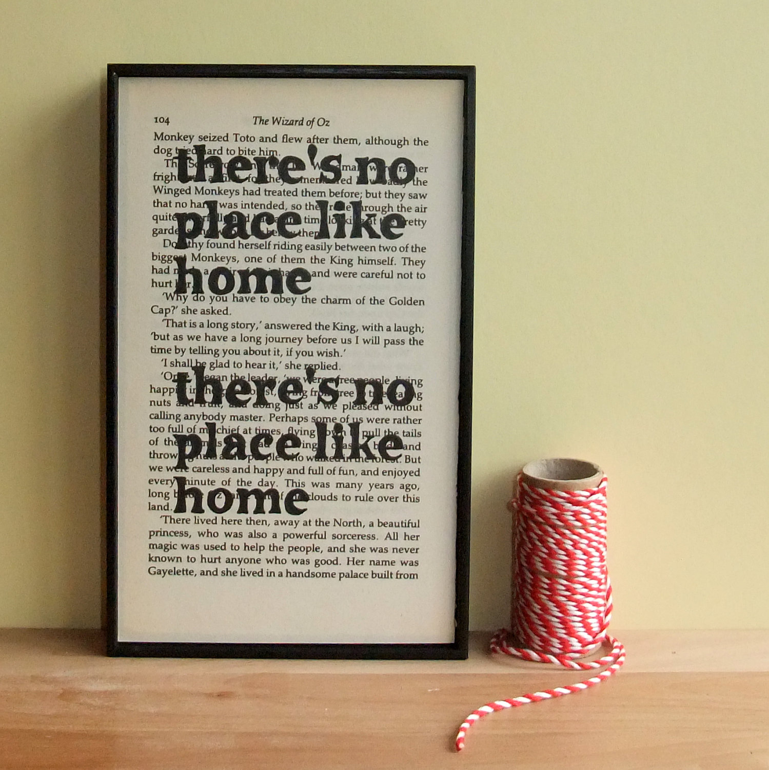 There 39 S No Place Like Home Housewarming Gift Wizard Of Oz